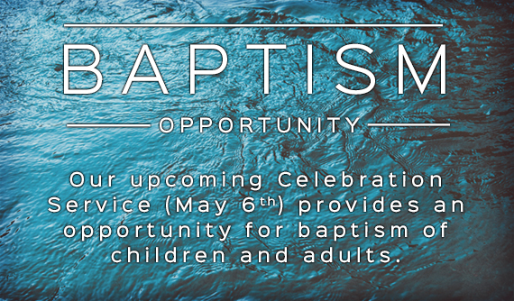 Baptism Opportunity