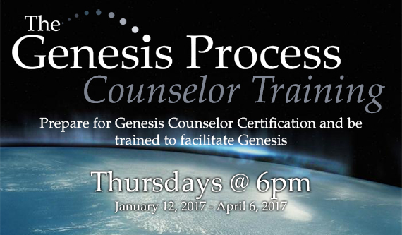 Genesis Process Counselor Training