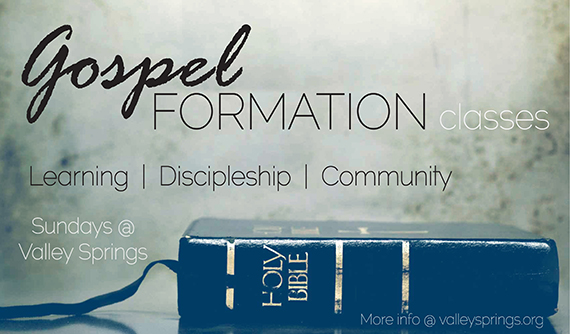 Gospel Formation Classes