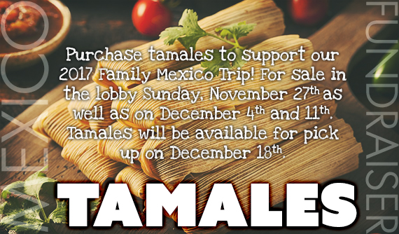 Mexico Fundraiser - Tamales