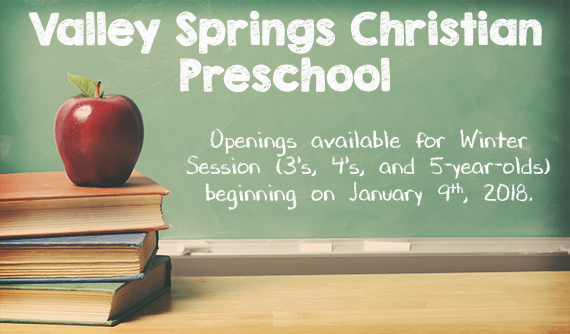 Valley Springs Christian Preschool